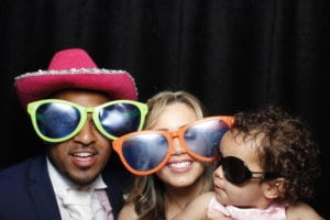 Photo booth at Wadhurst Castle