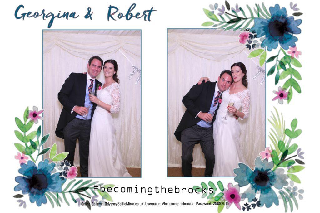 Wedding MagicMirror in Sussex