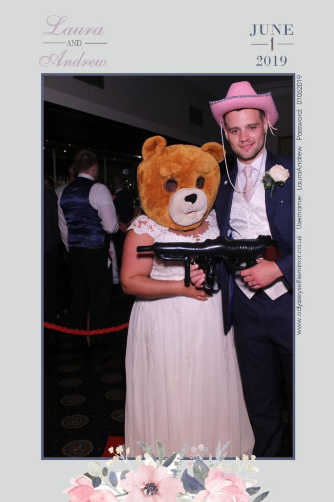 Wedding Selfie Mirror Spa Hotel in Tunbridge Wells