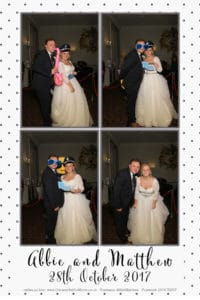 Wedding Magic Mirror at Buxted Park Hotel, Sussex