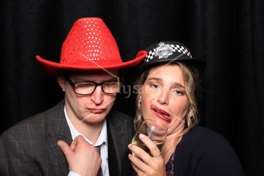 Photo booth at Buxted Park Wedding Sussex