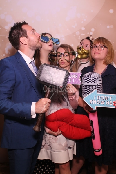 Odyssey #Selfie Mirror Photo Booth at Penshurst Place Kent