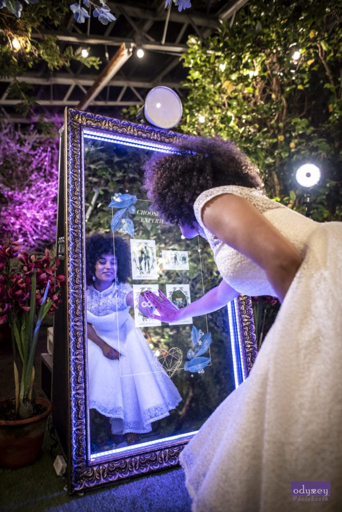 Odyssey #Selfie Mirror for your Wedding, Birthday or Corporate Event