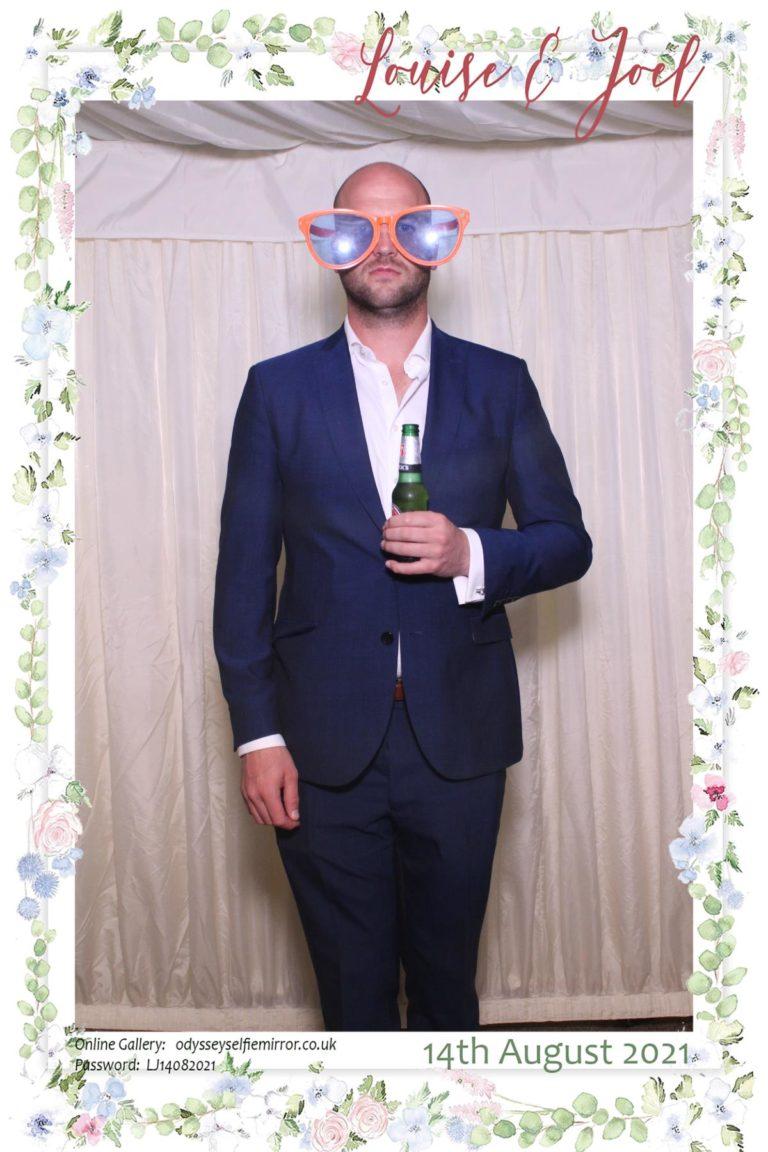 Wedding Selfie Mirror Buckhurst Estate