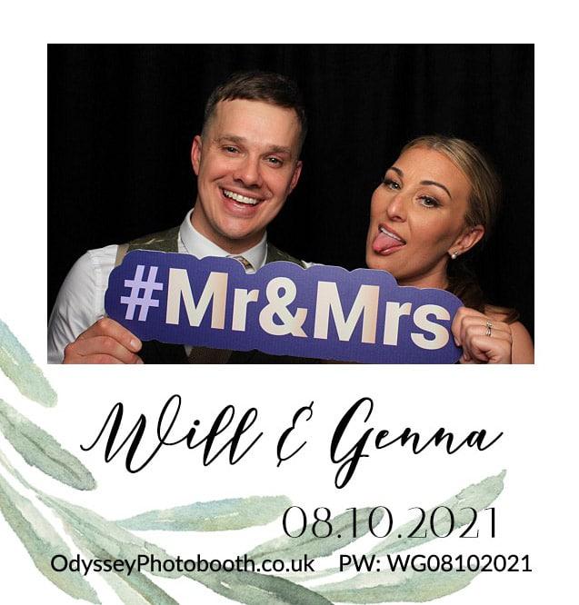 Wedding Photobooth at Winters Barns